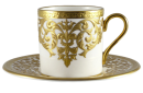 Ornamental bone china mug 1